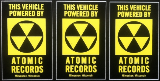 Atomic Records Stickers
