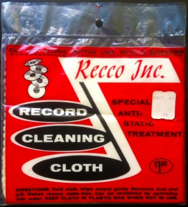 Record Cleaning Cloth