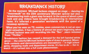 Breakdance History
