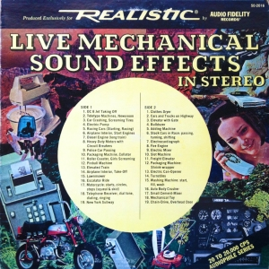Live Mechanical Sound Effects Cover Smaller