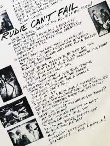 Rudie Lyrics