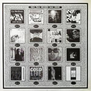 Wax Trax 1986 Insert