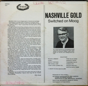 Nashville Gold Back