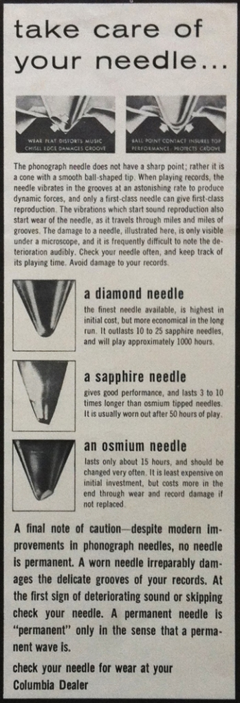 Take Care of Your Needle_smaller