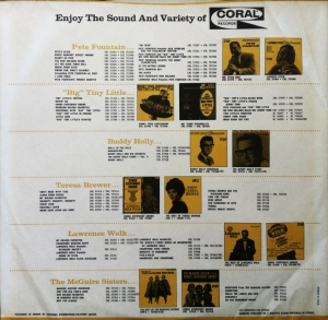 Coral Records Insert