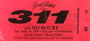 311 Stub