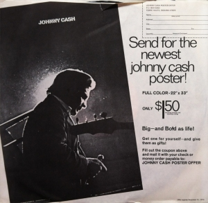 Johnny Cash Poster Offer