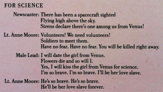 For Science Lyrics