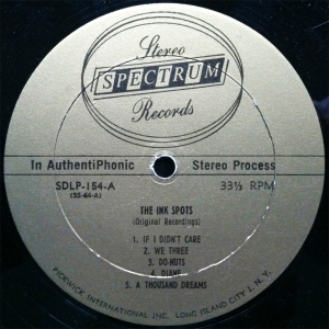 Ink Spots Label