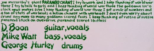 Paranoid Chant