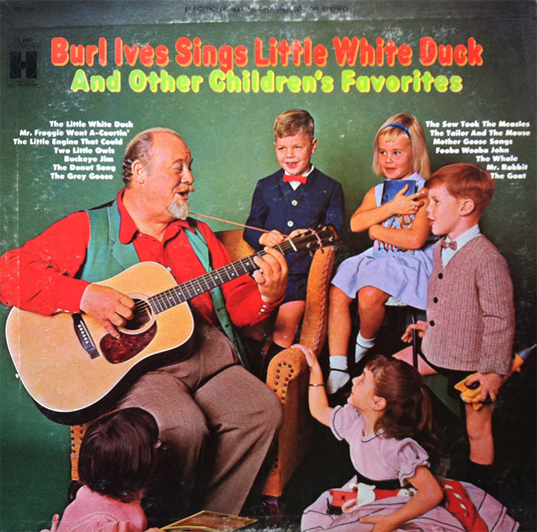 Burl Ives - The Little White Duck - There's A Little White House